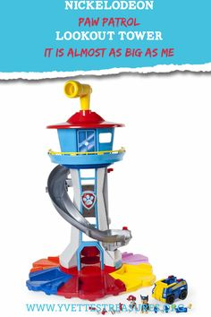 Paw Patrol toys are fun, affordable and great to play with. Paw Patrol has just come out with their new Lookout Tower, it's as big as a toddler. Take a look at these great Paw Patrol gift ideas and let me know what you think. Little Gifts For Him, Unique Gifts For Kids, Gifts For Teens, Creative Gifts, Paw Patrol Gifts, Paw Patrol Toys, Minnie Mouse Toys, Mickey Mouse Clubhouse Birthday, Gift Guide For Him