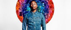 Jeans feito de garrafas PET + parceria com Pharrell Williams