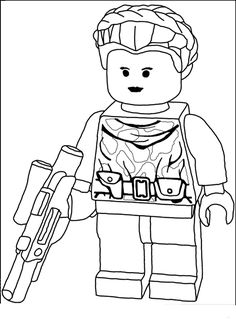 Lego Star Wars - Padme Amidala - Warrior Princess - Coloring Page Ninjago Coloring Pages, People Coloring Pages, Cartoon Coloring Pages, Coloring Books, Star Wars Padme, Lego Birthday Party, Star Wars Birthday, Lego Star Wars Games, Star Wars Colors