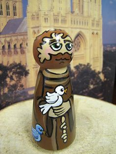 St. Francis Wood Peg