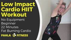LOW IMPACT Fat Burning CARDIO HIIT | BEGINNER High Intensity Workout without Jumping ... So you don't want to jump, but you want to get your heart rate up to burn calories and fat?  Oh, you've come to the right place!  This quick, quiet, and fun LOW IMPACT all-cardio HIIT workout is made for BEGINNERS with manageable intervals, plenty of verbal instruction and NO JUMPING.  Find more FREE low impact workouts at www.PahlaBFitness.com