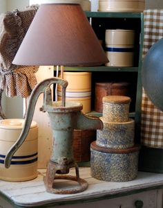 Swag lamps of vintage made