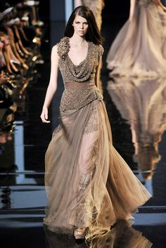 Elie Saab   Fall 2010 Couture Collection   Style.com