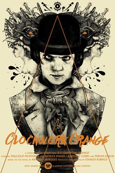 #ClockworkOrange #fanart #film #movie #illustration #alternative #poster #graphicart
