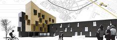 Edificio de Viviendas en Sant Joan Despí | 08023 Arquitectos - Barcelona | #Arquitectos #Edificios #Viviendas