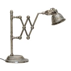 1930s French Industrial Articulated Table Lamp