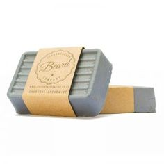 Charcoal & Mint Natural Clay and Coconut Oil Beard Soap