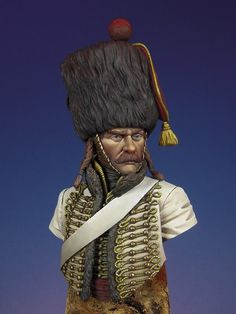 Completed - French Hussar, 5th Regiment, Elite Company Borodino, 1812 | planetFigure | Miniatures