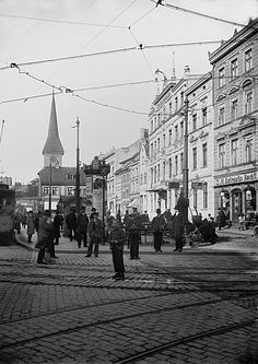 Königsberg Pr.     Steindamm mit Steindammer Kirche CB