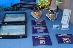 In the books  people could read more about our work and see jewelry that was custom made and sold allready.