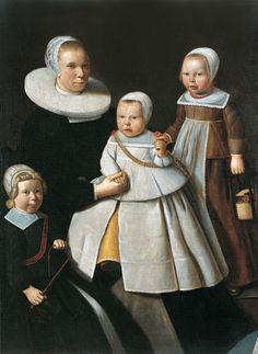 Portrait of a Lady with two Sons and a Daughter, 1646 | Flickr - Photo Sharing!