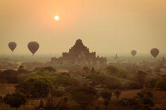 Bagan (Myanmar): un espectáculo hermoso y único