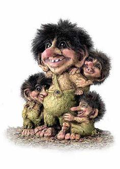 Nyform Norwegian Trolls