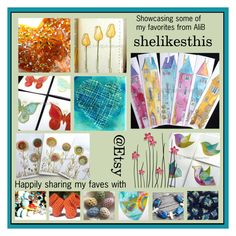 """""""My Faves from SheLikesThis"""" by rescuedofferings ❤ liked on Polyvore featuring art, integrityTT and EtsySpecialT"""