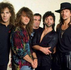 Bon Jovi late 80's ❤