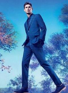 Arthur Gosse captured by Craig McDean for Ports 1961 Spring/Summer 2013 campaign. Look Fashion, Mens Fashion, Campaign Fashion, Mens Suits, Groom Suits, Suit Men, Renaissance Men, Suit And Tie, Mens Outfitters