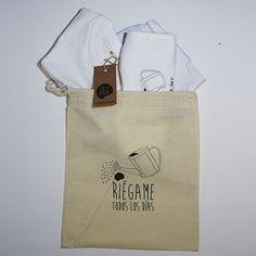 #Pack nacimiento #regadera #body #camiseta #babero #infantil #diseño #personalizado @chussbarranco