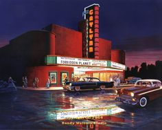 50s Art, Classic Art - Classic Debut - The Gaylynn Theatre