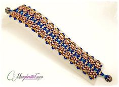 Tutorial: how to make Moonlight bracelet with by 75marghe75
