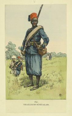 Tirailleur Senegalais 1890