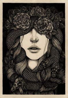 Shé - Year of the Snake by Annita Maslov Illustrations