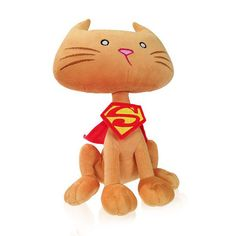 Superman DC Comics Super-Pets Streaky Plush Cat