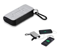 Zoom Extreme Power Bank - a portable mobile charger that is made for the outdoors. This power bank is dust, scratch and impact resistant.