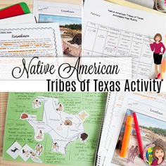 Tribes of Texas with Content Readings Annotated Map Indian Tribes, Native American Tribes, American Indians, Texas History 7th, Us History, 4th Grade Social Studies, Social Studies Activities, Summary Writing, History Lesson Plans