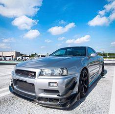 Nissan Gtr R34, Nissan Gtr Skyline, My Dream Car, Dream Cars, Nissan Silvia, Jdm Cars, Car Wallpapers, Fast Cars, Cars And Motorcycles