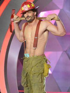 12 Hot Shirtless Celebrities—Yum! #JoeManganiello