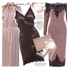 """Evening gown"" by vanjazivadinovic ❤ liked on Polyvore featuring Valentino, Whiteley, Dsquared2, sammydress and polyvoreeditorial"