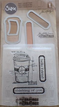 Image result for tim holtz coffee time