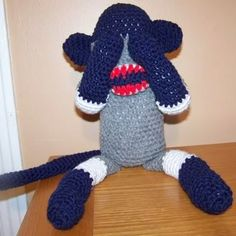 See no evil sock monkey