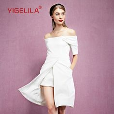 Check this out & see what happens! Ladies Off Should...  http://www.canadianonlineshopping.net/products/yigelila-61209-latest-new-fashion-white-dress-women-sexy-slash-neck-off-shoulder-short-sleeve-solid-dress?utm_campaign=social_autopilot&utm_source=pin&utm_medium=pin #shopping