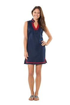 Nautical and Nice Tunic Navy