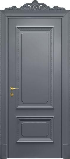 Door color is amazing! Living Room Sliding Doors, Bedroom Doors, Painted Doors, Wood Doors, Contemporary Decorative Pillows, Door Gate Design, Front Door Makeover, Flush Doors, Door Molding