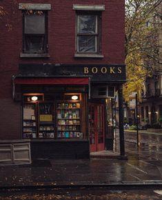 three lives and co bookstore, greenwich village, ny-- three lives and co bookstore, greenwich village, ny Cozy Aesthetic, Autumn Aesthetic, Aesthetic Outfit, Aesthetic Collage, Aesthetic Vintage, Night Aesthetic, Paradis Sombre, Cozy Rainy Day, Rainy Days