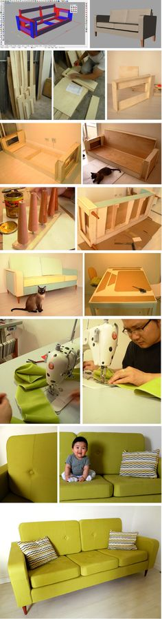 How to make a sofa