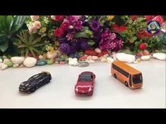 toy cars for kids, cars racing, cars crashing,bus toy car