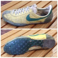 e5539baf9f65 From the self-lacing shoes inspired by Marty McFly to the first running  shoes made from a waffle iron