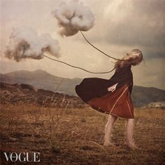 Made by: Brooke Shaden - (Clouds on a Leash)