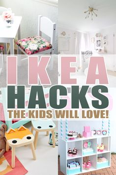 ikea hacks Hi there! Are you a lover of IKEA HACKS? well then you are going to adore these IKEA Hacks the Kids Will LOVE! From Lego Tables to Play Stoves to Doll Houses. Ikea Hack Kids Bedroom, Ikea Closet Hack, Ikea Kids Room, Ikea Toddler Room, Ikea Kids Table, Ikea Playroom, Playroom Storage, Playroom Ideas, Ikea Furniture