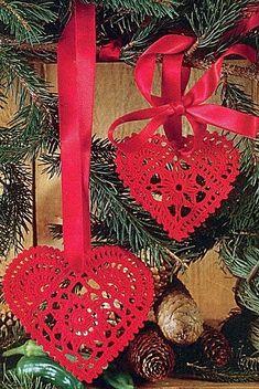 Coeurs au crochet - Le blog de Anne