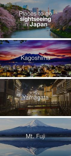 Places to Go Sightseeing in Japan: Although Japan has been highlighted as a very modern society, this country is also the pinnacle of experiences when it comes to nature and sightseeing. Sightseeing in Japan is unlike anywhere else in the World. No matter which season you go sightseeing in Japan, you are in for a spectacle; so don't forget to bring extra memory for your camera.