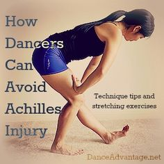 How dancers can avoid achilles injurty The Long and Short of Achilles Tendon Health. It's been bugging me lately even though I haven't dance in years. Ballet Stretches, Stretching Exercises, Irish Step Dancing, Irish Dance, Dance Training, Cross Training, Dance Technique, Achilles Tendon, Dance Tips