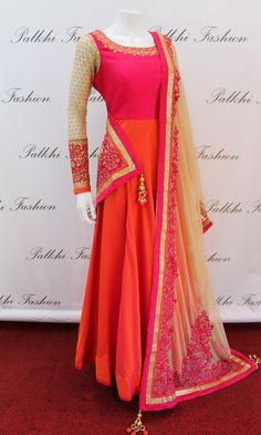 Designer Anarkali Outfit / Gown  Buy Online  Palkhi Fashion Houston