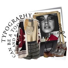 """""""tipography"""" by theroyalcrime on Polyvore"""