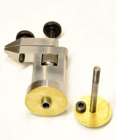 Clamps for homemade bushing machine for clock & instrument repair