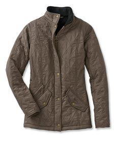 Barbour® Ladies Kensington Quilted Jacket, color=mocha
