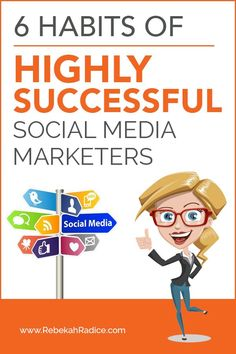 6 Habits of Highly Successful Social Media Marketers While check out #knackmap @  www.knackmap.com  Best #socialmedia #managing + #marketing tool.